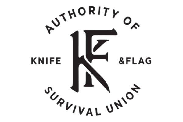 Knife & Flag  Aprons