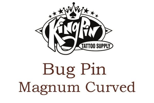 Bug Pin Magnum curved