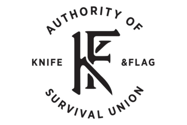 Knife & Flag  Aprons