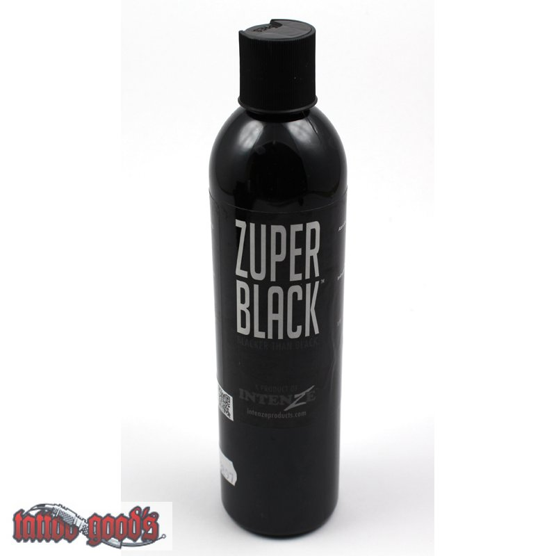 Intenze zuper black 360 ml for Zuper black tattoo ink intenze