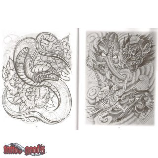 Aaron Bell - Japanese Designs & Sketches VOL.2