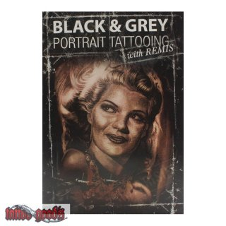 DVD - Black & Grey - Portrait Tattooing with Remis