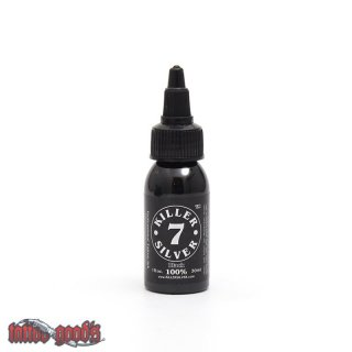 Killer Silver Black 100 % - 30 ml