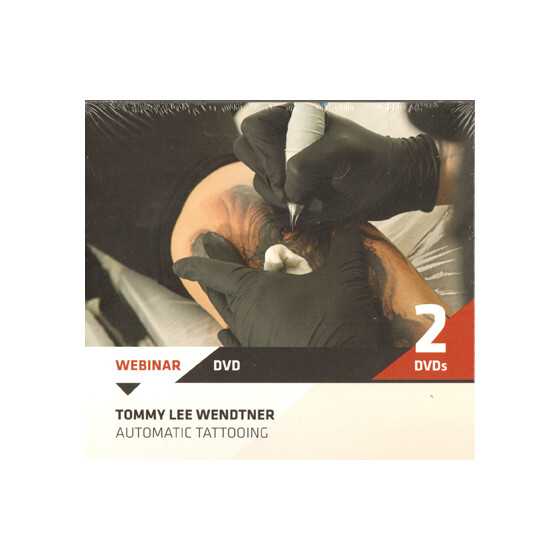DVD - Tommy Lee Wendtner - Automatic Tattoing