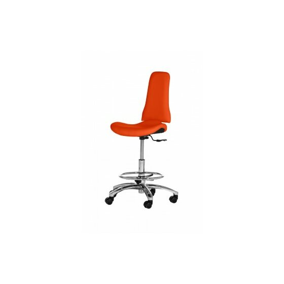 Arbeitshocker XI Orange