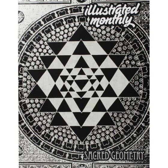 Sacred Geometry - illustrated monthly